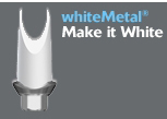 Picture of whiteMetal<sup>&reg;</sup> OPAQUER (BlueSkyBio.com)
